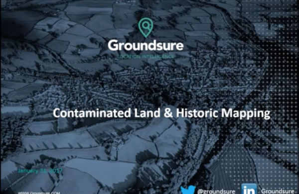 Historic Mapping – Contaminated Land