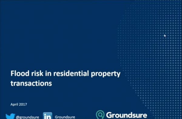 Flood risks in residential property transactions
