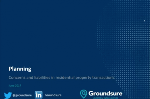 Planning Concerns in Residential Transactions